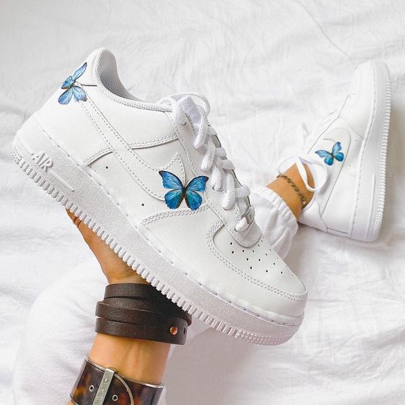 Nike custom ???? air force 1 sneakers